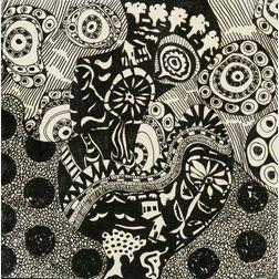 Judith Ferrara (Massachusetts, b. 1942), Kissing Trees