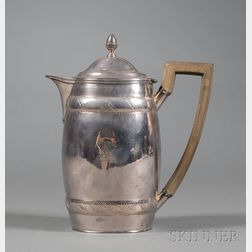 George III Silver Hot Water Pot