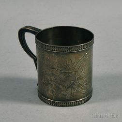 Whiting Manufacturing Co. Sterling Mug