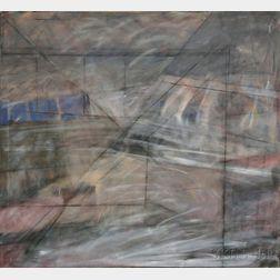 Sabra Friedman (American, 20th Century)      Untitled Abstract