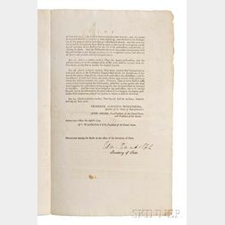 United States, Second Congress, 1st Session: 1791-1792, House Bill. An Act to Establish the Post-Office and Post-Roads Within the Unite