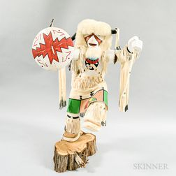 Modern Matilda Bruce Polychrome Carved Kachina
