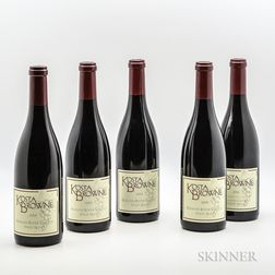 Kosta Browne, 5 bottles