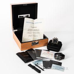 Limited Edition Panerai Luminor 1950 Regatta Rattrapante and Travel Clock