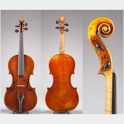 Italian Violin,  Enrico Marchetti, Turin, 1893