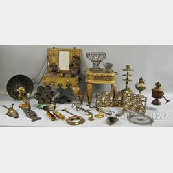Group of Metal Domestic and Decorative Items