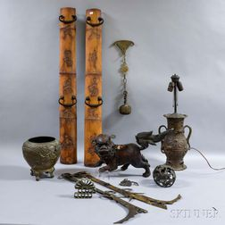 Ten Mostly Metalwork Items