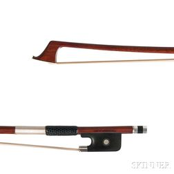 Silver-mounted Violoncello Bow