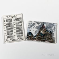 Seventy-seven Assorted Wedgwood Calendar Tiles