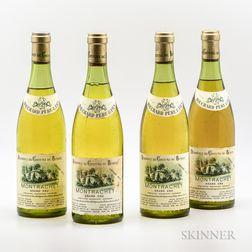 Bouchard Pere & Fils Montrachet 1973, 4 bottles