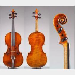 French Violin, J.B. Vuillaume, Paris, c. 1860