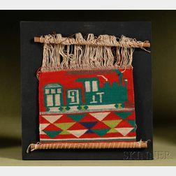 Germantown Sampler on a Loom