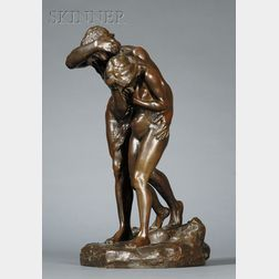Fanny Marc (French, 19th/20th Century)      The Expulsion of Adam and Eve from the Garden of Eden