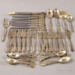 """Easterling """"American Classic"""" Sterling Silver Partial Flatware Service"""