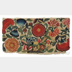 Appliqued Textile Fragment