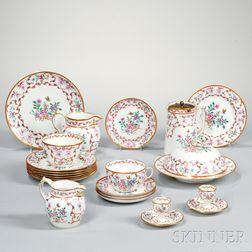 Spode Porcelain Partial Breakfast Set
