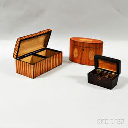 Three Wooden Boxes