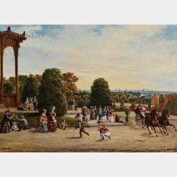 William Winner (American, 1815-1883)      View of Philadelphia from Fairmount