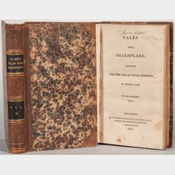 Lamb, Charles (1775-1834) and Mary Lamb (1764-1847) Tales from Shakespeare, Designed for the Use of Young Persons.