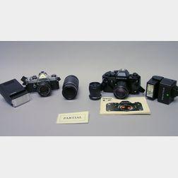 Pentax Cameras and Equipment