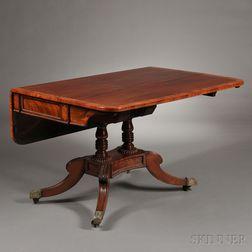 William IV Mahogany-veneered Drop-leaf Breakfast Table