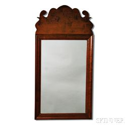 Queen Anne-style Mahogany Mirror