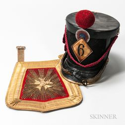 French Shako and Sabretache