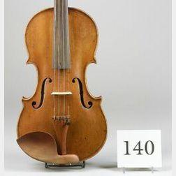 Dutch Violin, J.F. Cuypers, Amsterdam, 1800