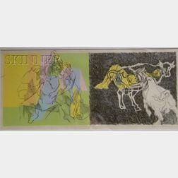 Jacques Villon (French, 1875-1963)      Image from Les Bucoliques de Virgile.