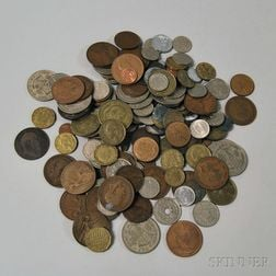 Assorted Group of International Coins
