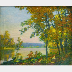 American School, 20th Century      Early Autumn Landscape