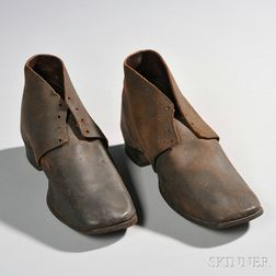 Civil War-era Jefferson-style Bootees