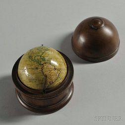 Newton's 3-inch Cased Terrestrial Pocket Globe