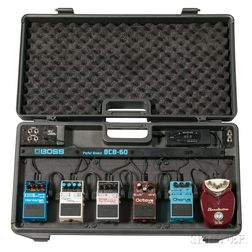 Boss BCB-60 Pedal Board with Six Effects and Tuner