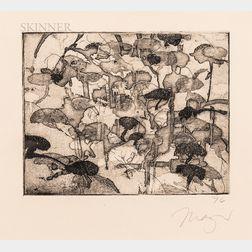 Michael Burton Mazur (American, 1935-2009)      Mind Landscape