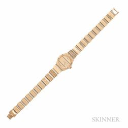 "Lady's 18kt Gold ""Polo"" Wristwatch, Piaget"