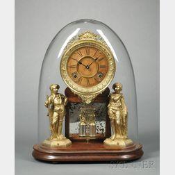 "Ansonia Crystal Palace No. 1 ""Extra"" Mantel Clock"