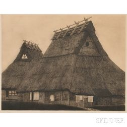 Tanaka Ryohei (b. 1933), Huts