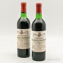 Chateau Latour a Pomerol 1975, 2 bottles