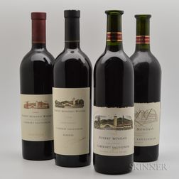 Robert Mondavi, 4 bottles
