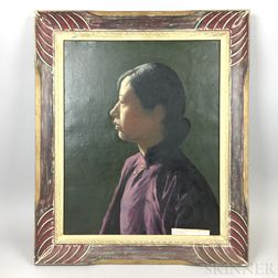 Three Edwin B. Sears (American, 20th Century) Portraits