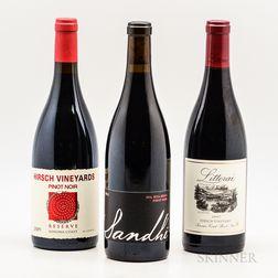Mixed Pinot Noir, 3 bottles