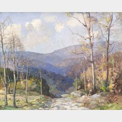 William Jurian Kaula (American, 1871-1953)    Spoffard Gap