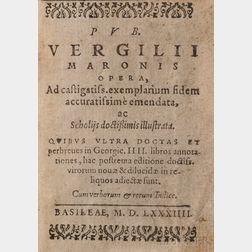 Virgil (70 BC-19 BC) Opera