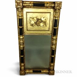 Classical Carved and Gilt Split-baluster Tabernacle Mirror