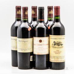 Vintage Napa Merlot, 6 bottles