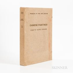 Tomita, Kojiro (1890-1976) Portfolio of Chinese Paintings in the Museum [of Fine Arts, Boston] (Yuan to Ch'ing Periods).