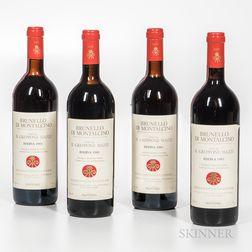 Il Greppone Mazzi Brunello Di Montalcino Riserva 1983, 4 bottles