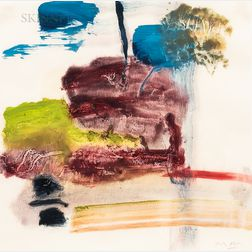 Michael Burton Mazur (American, 1935-2009)      Untitled