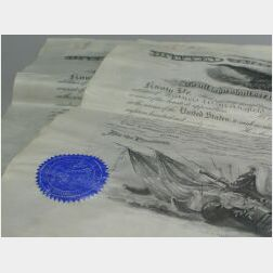Two Documents Signed by U. S. Presidents